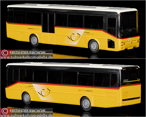 Rietze Renault Ares Post Auto Postbus Modellbus Busmodell Modellbusse Busmodelle
