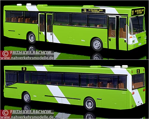 Rietze Busmodell Artikel 72120 M A N S L 202 ÜSTRA Hannover