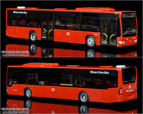 Rietze MB O530 Weser Ems Bus DB Rot